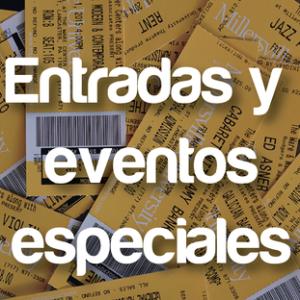 entradas y eventos